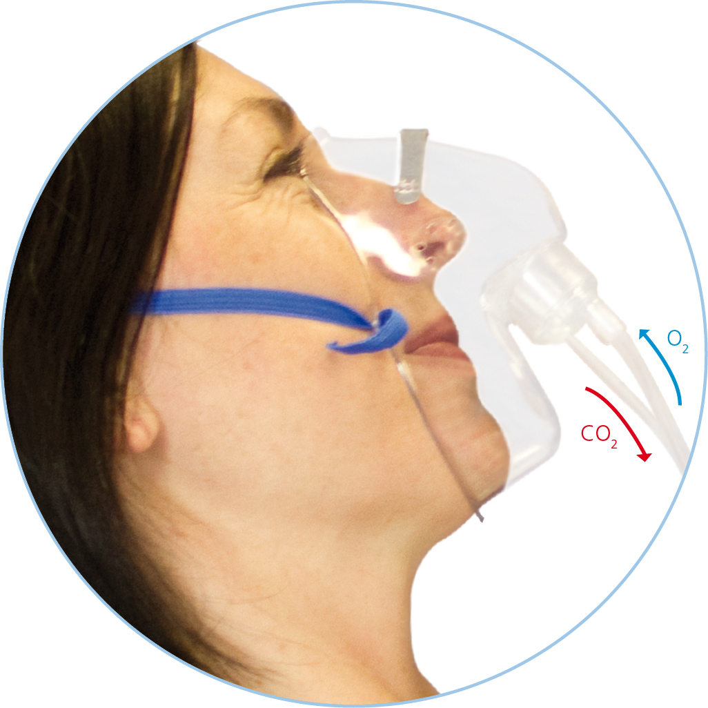 Capnography Mask - Dual