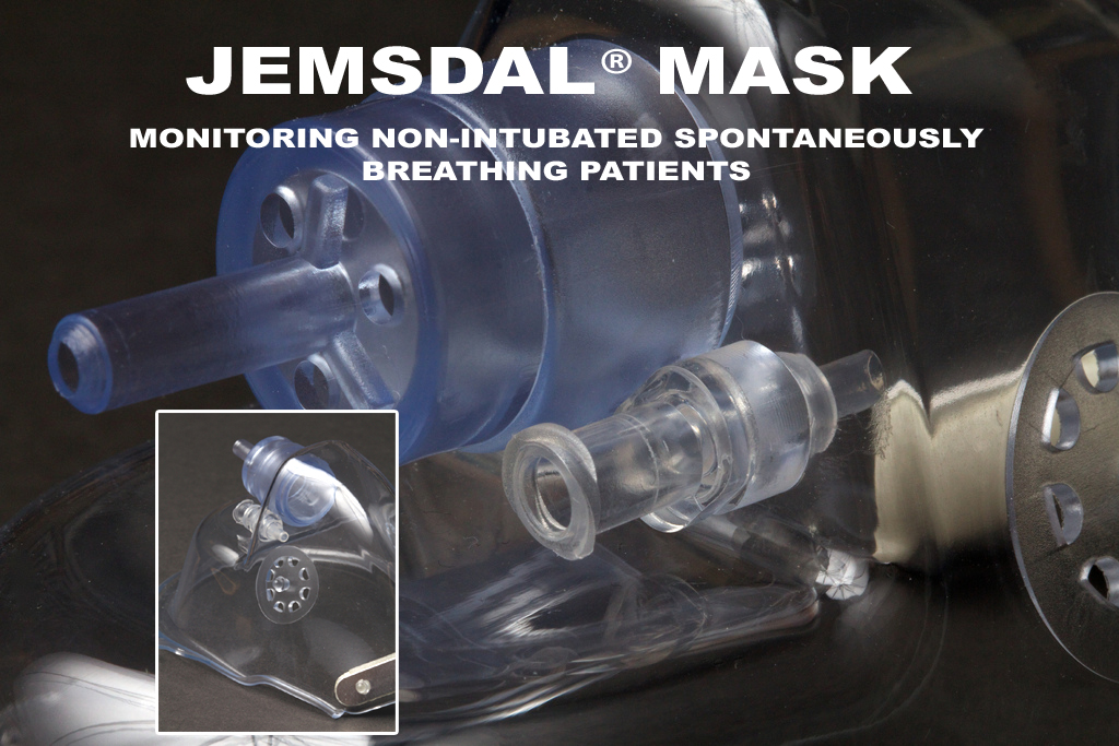 Jemsdal Mask - With CO2 Monitoring Port